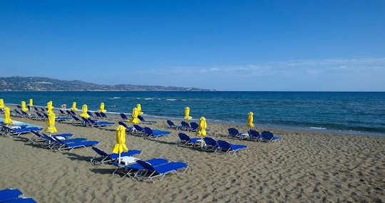 Spiaggia Ammoudara: situata a 16 km da Heraklion