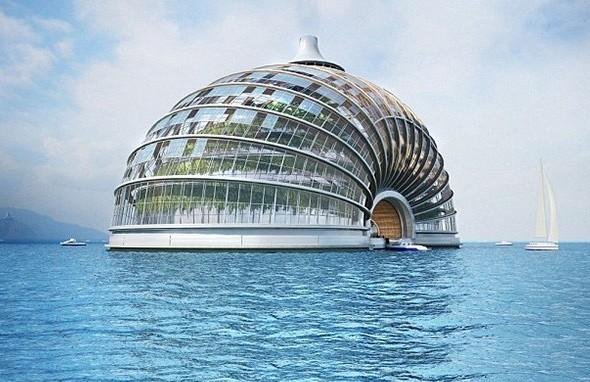 nave futuristica  crociere nel cuore