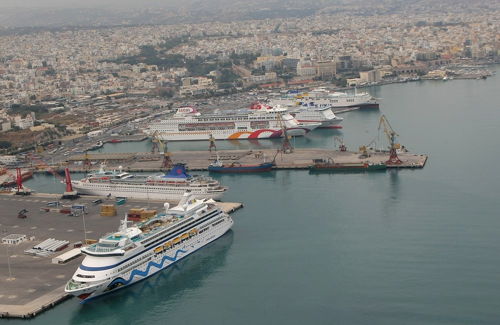 Herakllion - porto