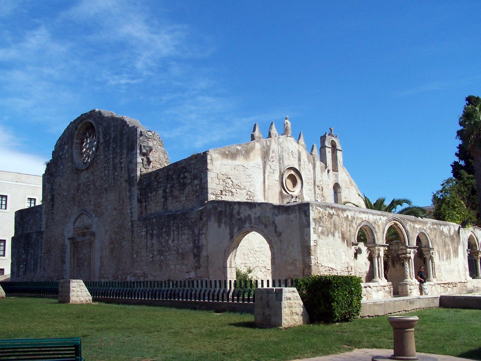 chiesa di San Giovanni alla Catacombe a Siracusa