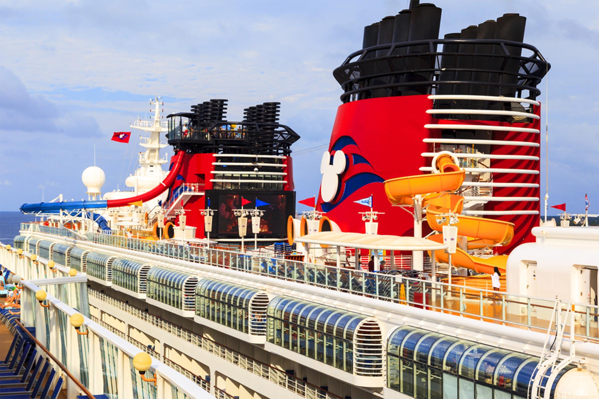 PARCHI ACQUATICI, SCIVOLI e piscine disney cruise line crociere nel cuore