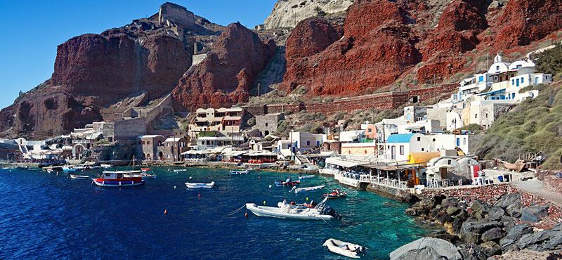 Santorini - porto di Ammoudi