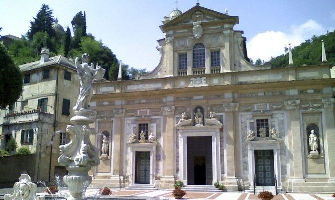 Savona - a 7 Km Santuario di Nostra Signora della Misericordia