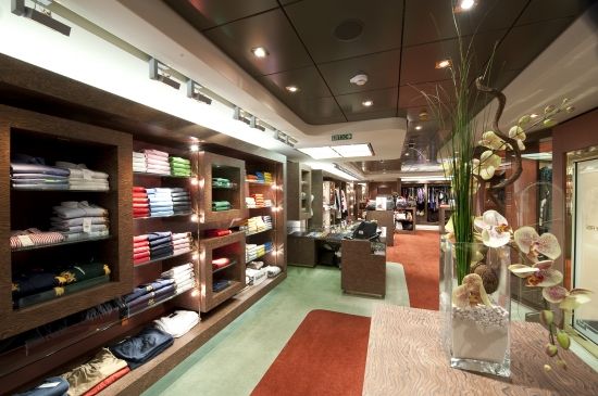 AREA SHOPPING MSC SPLENDIDA CROCIERE NEL CUORE