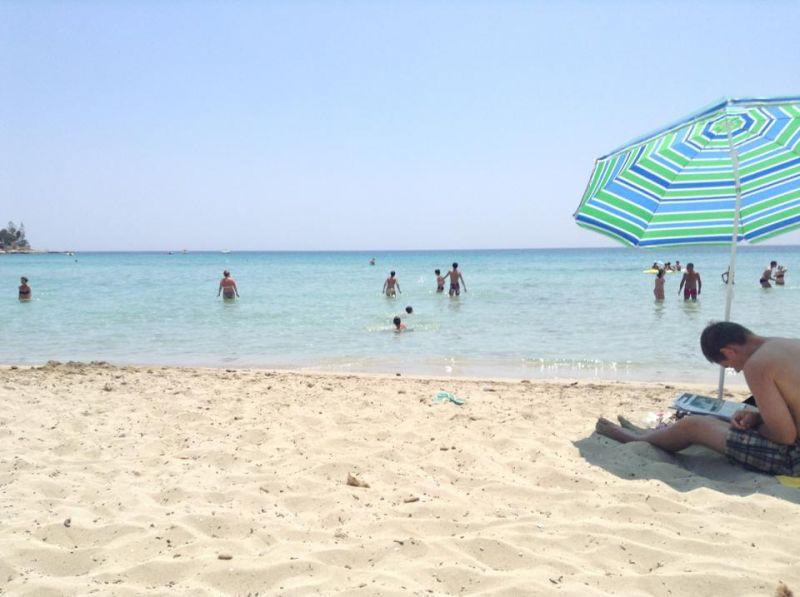 """La spiaggia di Fontane Bianche.  """"Tropici del Mediterraneo"""". Dista 15 Km da Siracusa."""