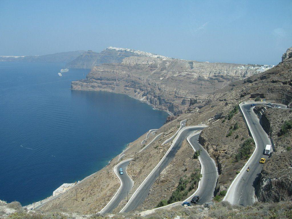 Santorini - tratta Fira - oia