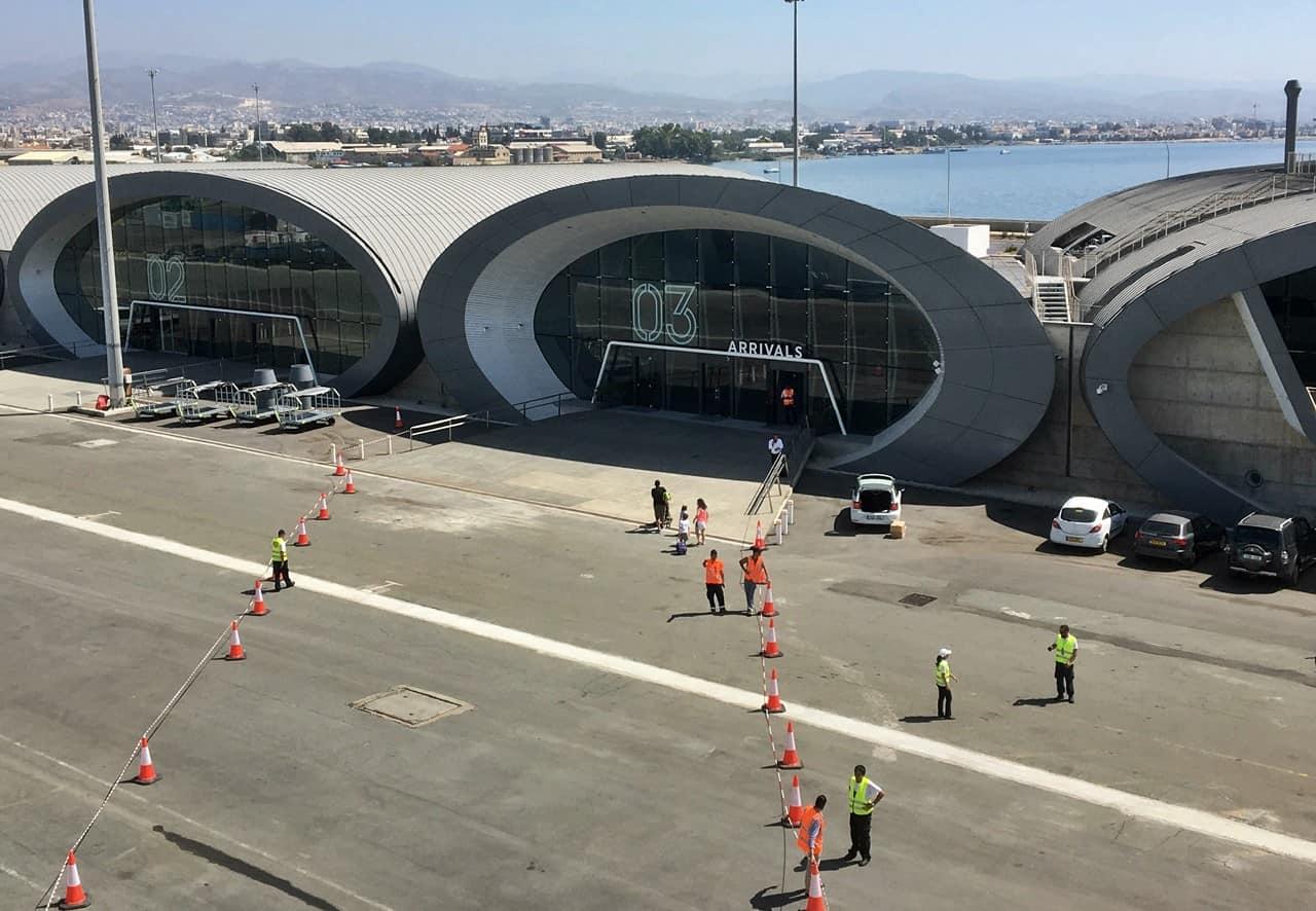 Terminal passeggeri porto di Limassol