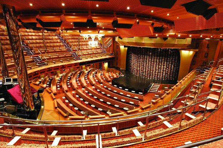 costa favolosa teatro hortensia crociere nel cuore