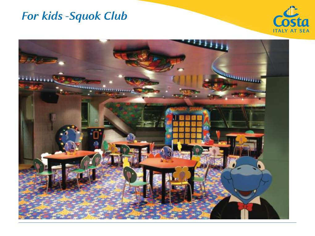 costa fortuna for kids squok club