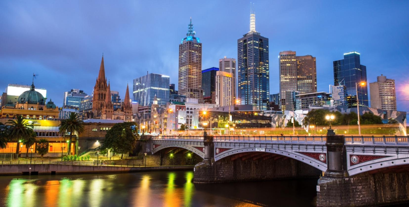 crociera in australia :               melbourne capitale dello stato australiano crociere nel cuore