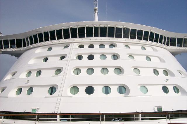 nave da crociera balconata ponte di comando  crociere nel cuore.