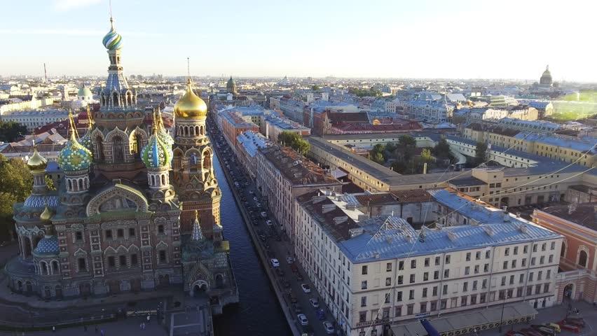 Panorama di San Pietroburgo