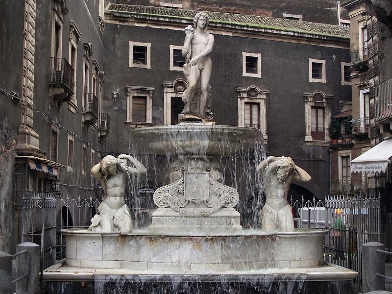 Fontana dell'Amenano Catania