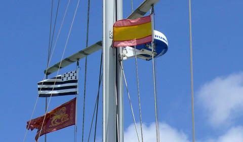 bandiere di cortesia navi da crociere