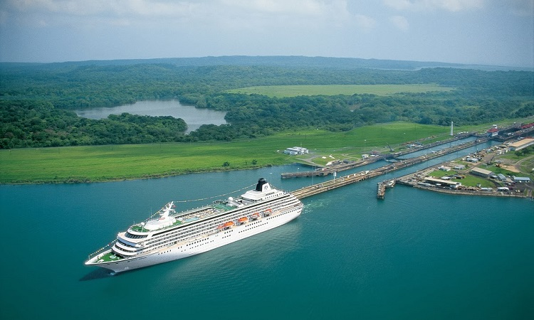 Canale di Panama - attraversamento