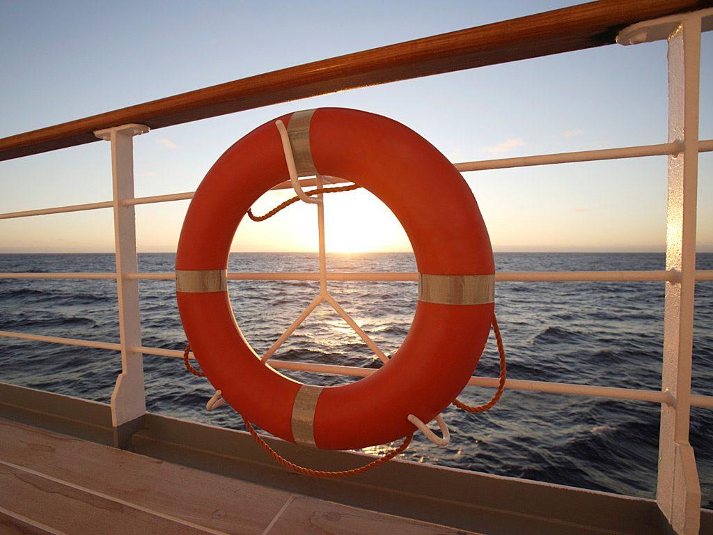 sicurezza nave da crociera