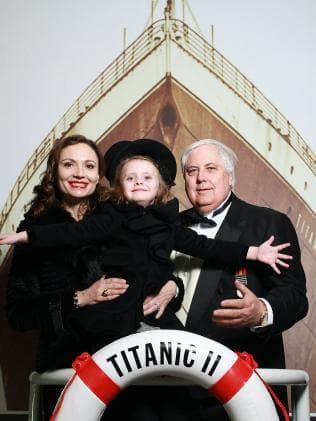 clive palmer titanic II blue star line  crociere nel cuore