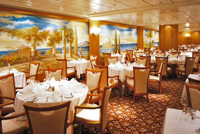 ristorante fantasia costa vittoria crociere nel cuore