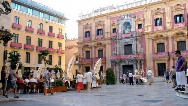 Malaga - plaza Obispo