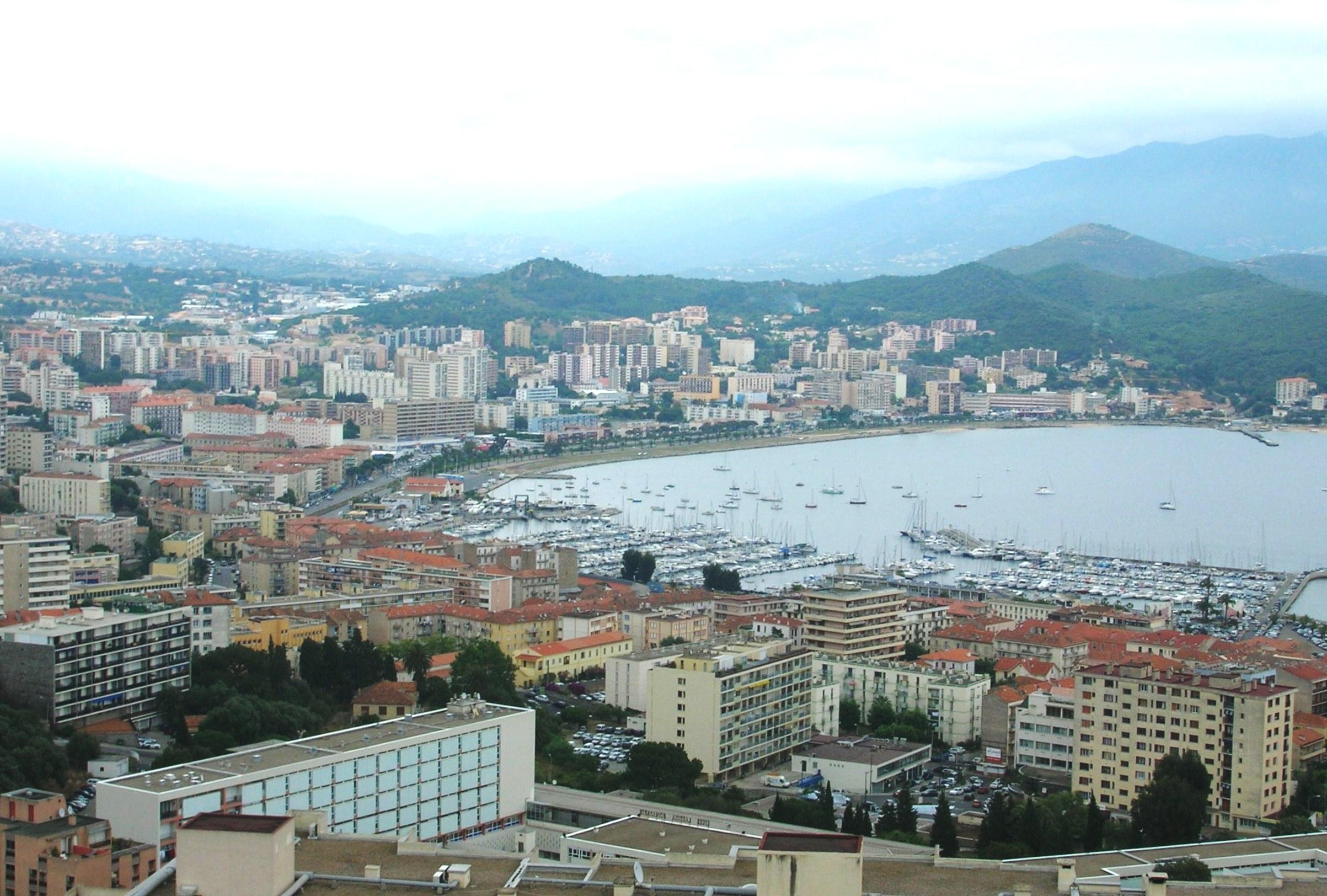 Ajaccio - panorama