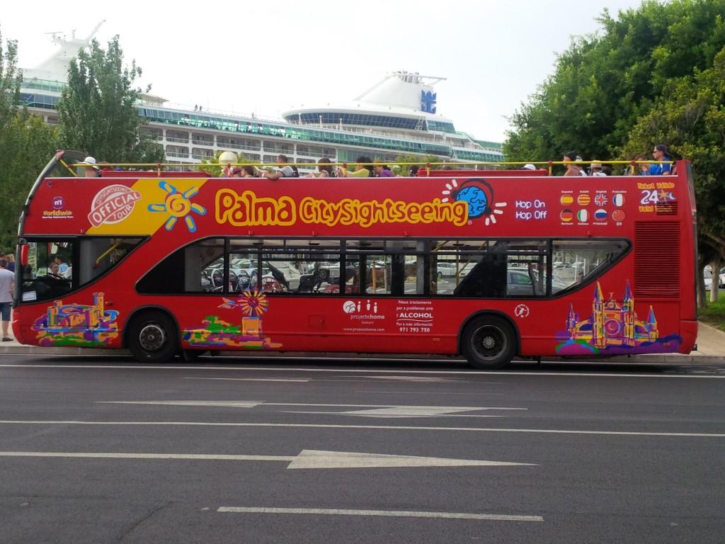 Palma di Maiorca - bus turistico