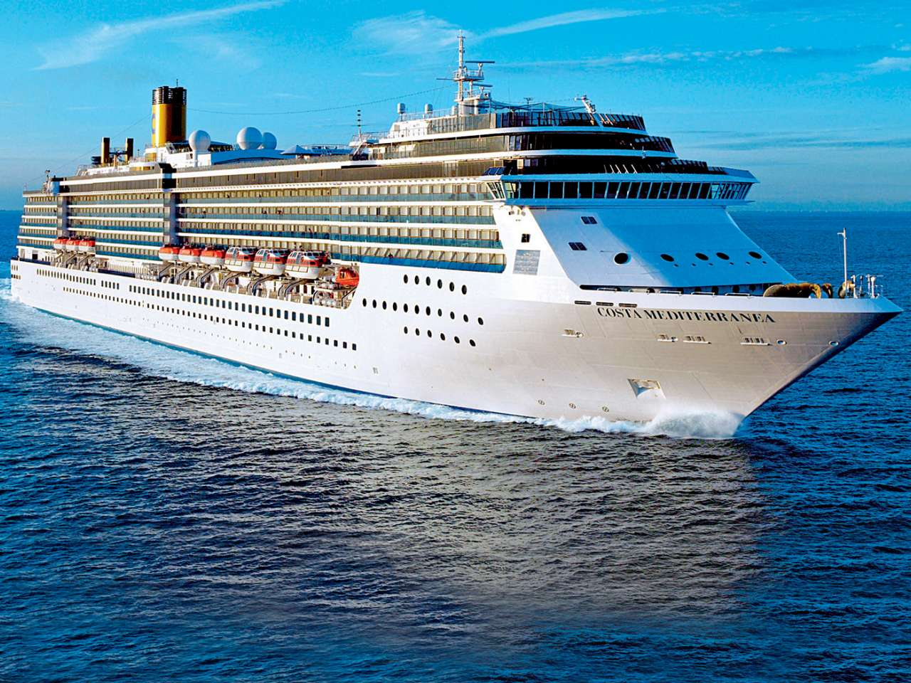 costa mediterranea flotta costa crociere