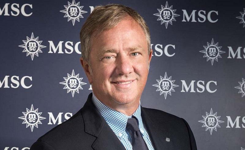PIERFRANCESCO VAGO  Executive Chairman di MSC Cruises