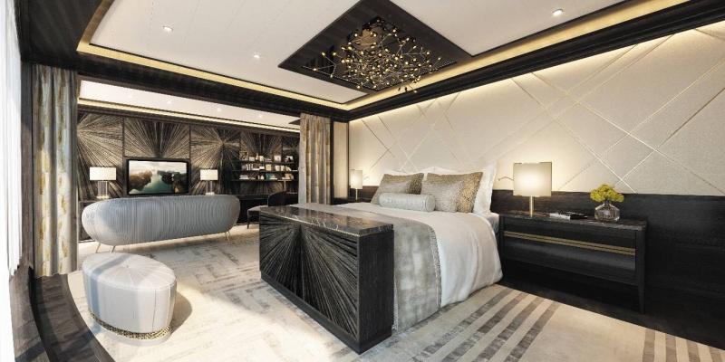 le più belle suites: suite di regent seven seas