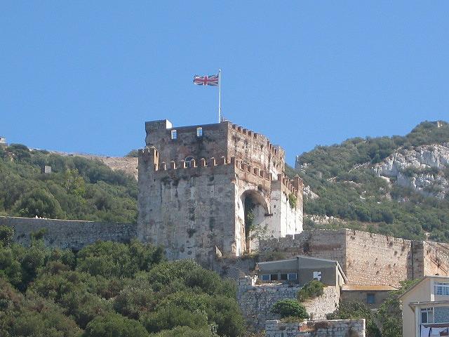 Gibilterra - castello moresco