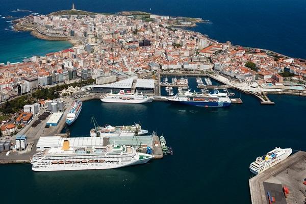 La Coruna - porto