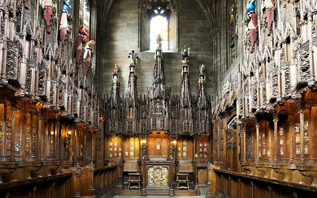Edimburgo - thistel chapel