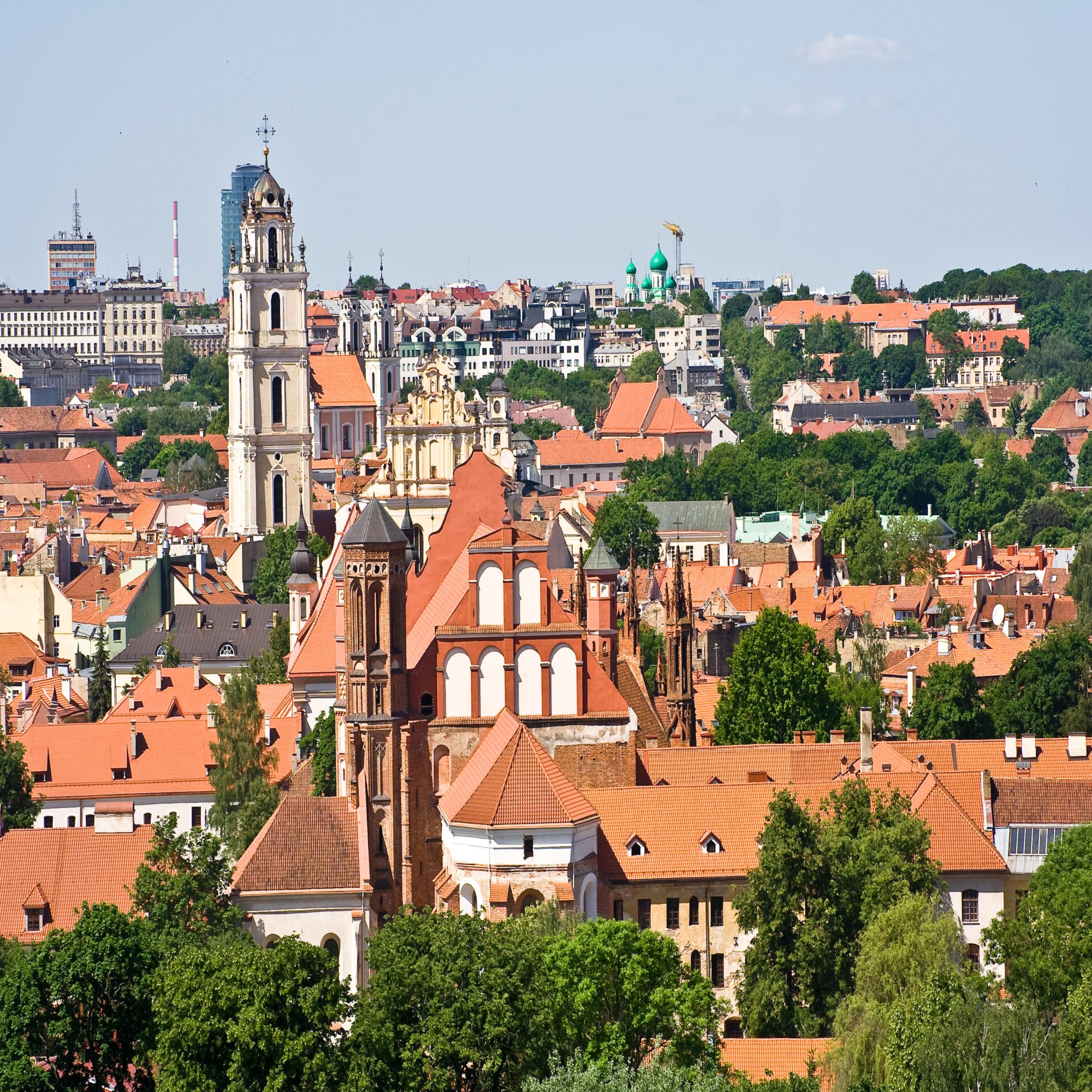 vilnius - centro storico