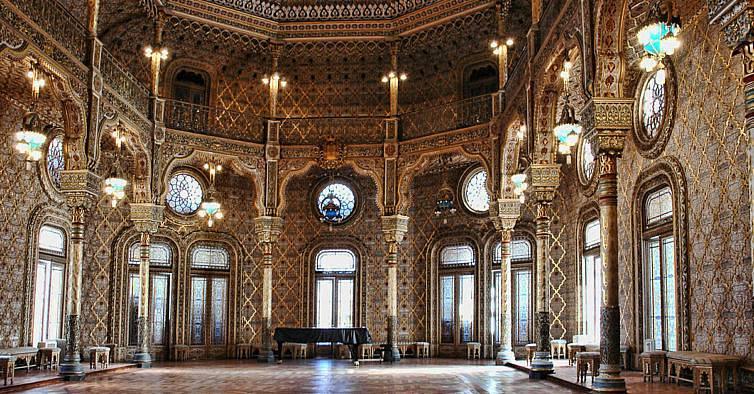 Porto - palazzo della borsa - Sala Araba
