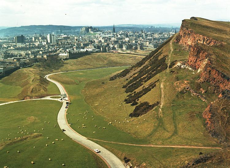 Edimburgo - Holyrood park