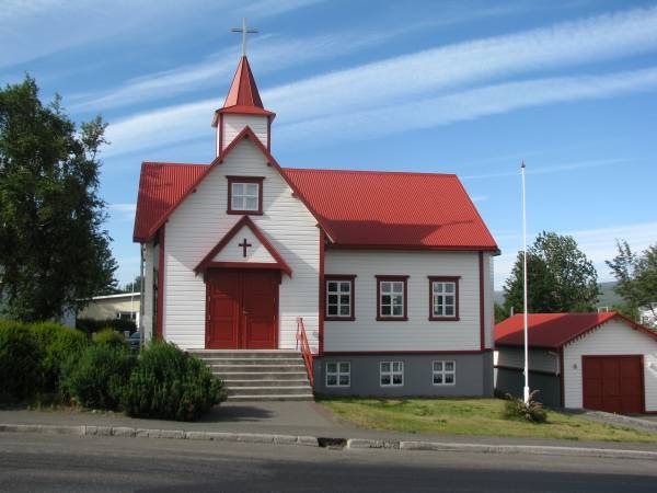 Akureyri - chiesa di San Pietro