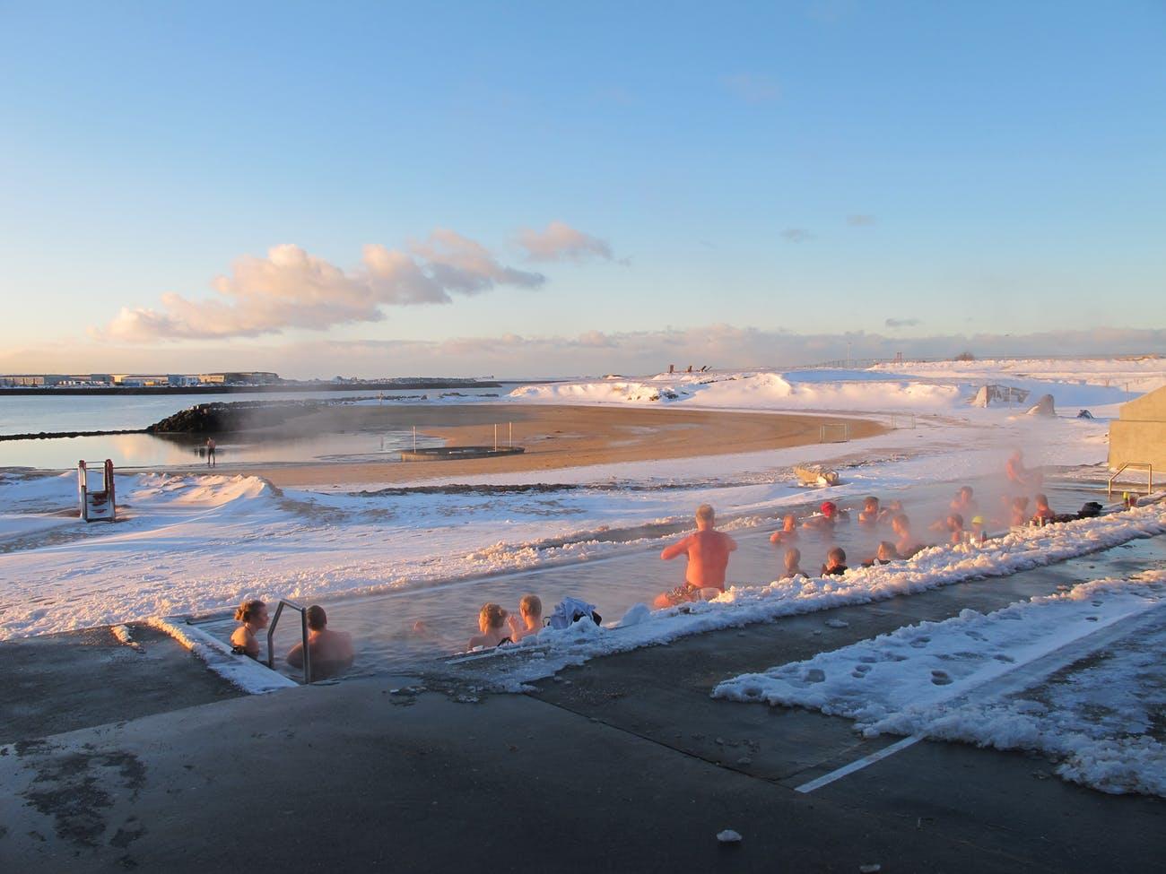 REYKJAVIK -SORGENTE GEOTERMALE di Nautholsvik