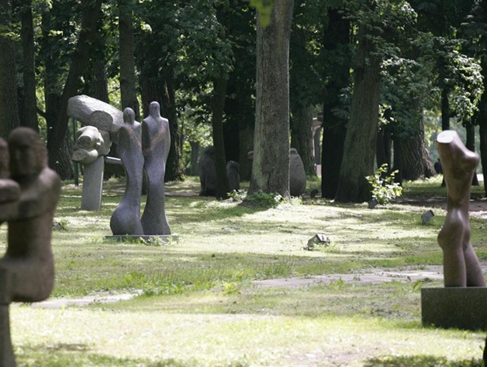 Klaipeda Sculpture Park Kleipeda