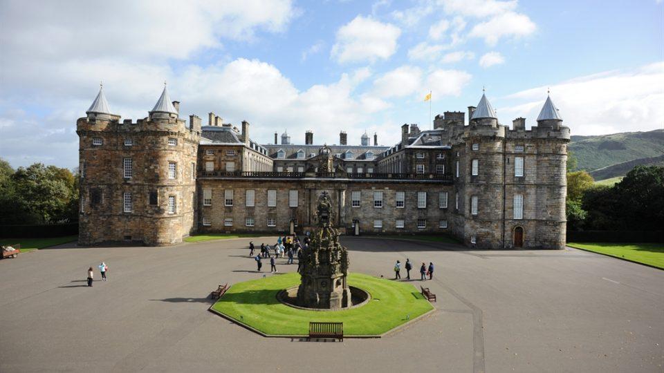 Edimburgo - Palazzo di Holyroodhouse