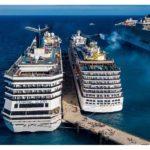 Tutti i porti impediscono attracco a navi da crociere