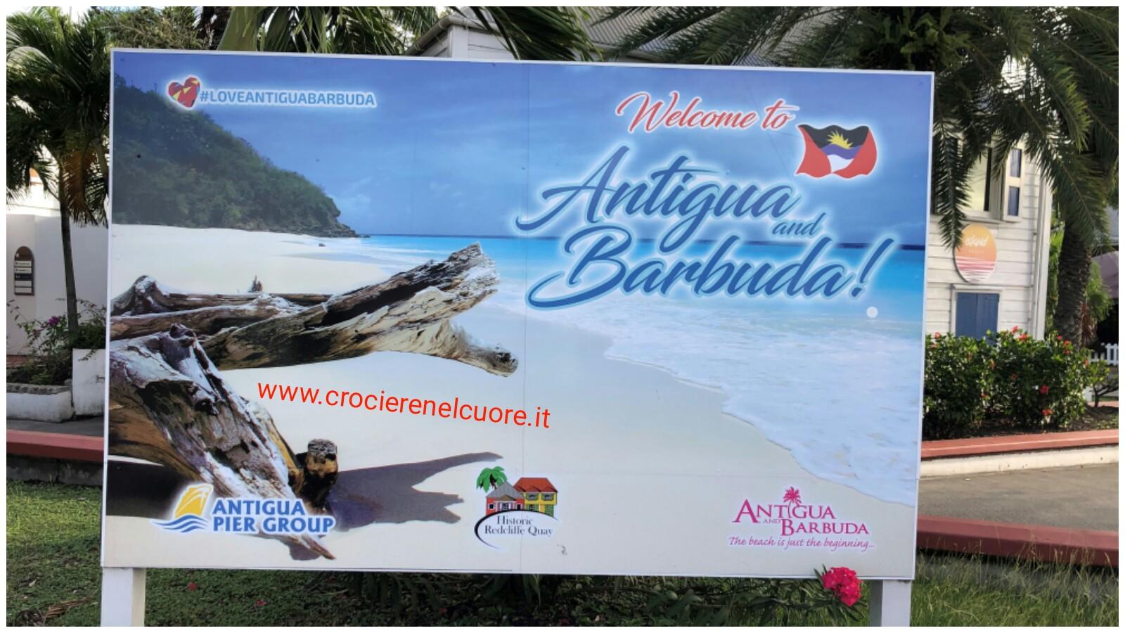 crociere nel cuore  - Antigua