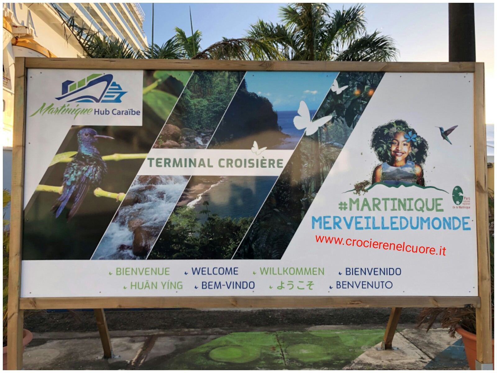 benvenuto in Martinica