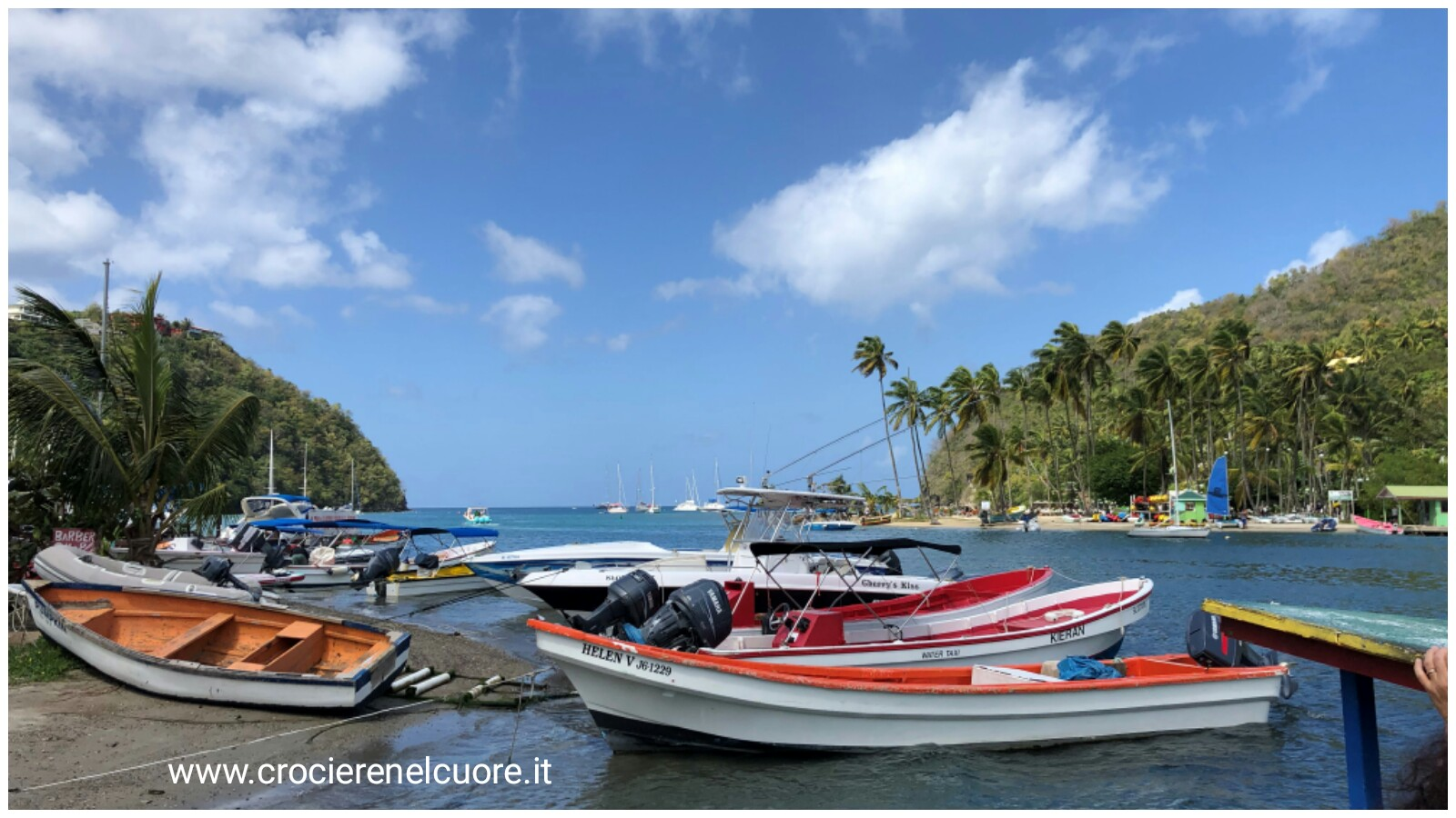 Marigot Bay - crociere nel cuore