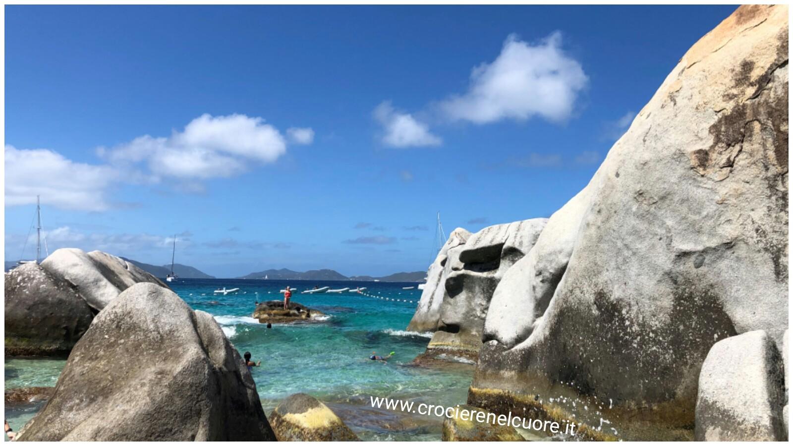 crociere nel cuore - Virgin Gorda - Tortola