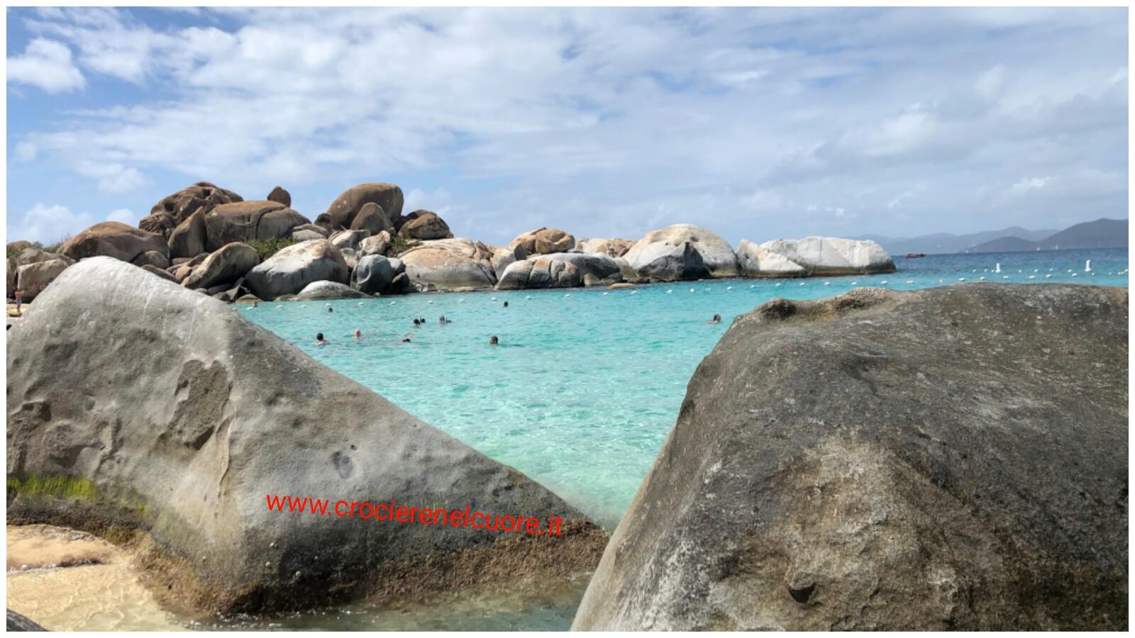 crociere nel cuore - Devil's Bay Virgin Gorda Tortola