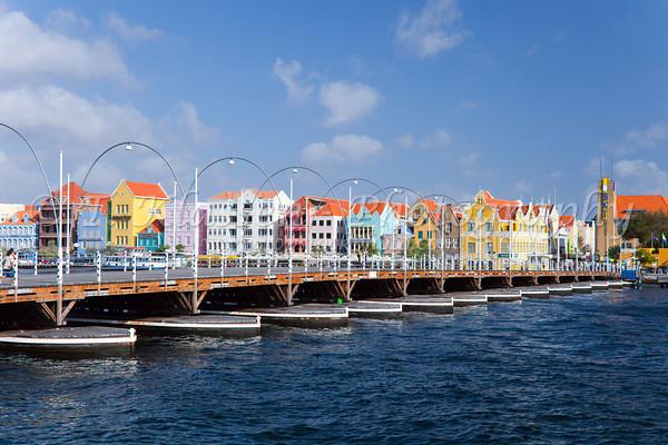 Curaçao ponte Queen Emma Bridge