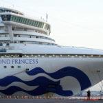 La Diamond Princess lascia Yokohama