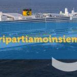 Costa: tenta un piano per ricominciare con itinerari brevi in Italia