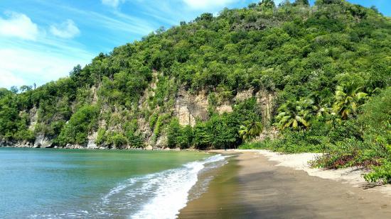 Roseau Beach - Santa Lucia
