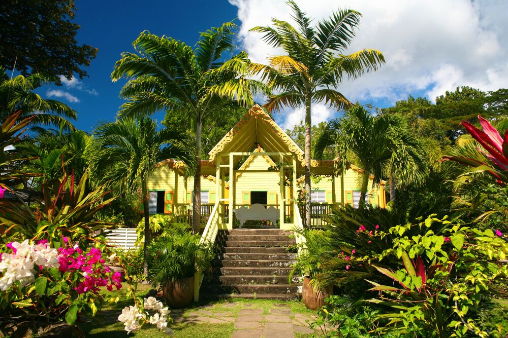 giardino di Romney Manor - St. Kitts