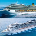 Confronto tra giganti del mare: MSC e Costa